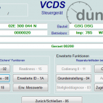 DSG Identifikation VCDS